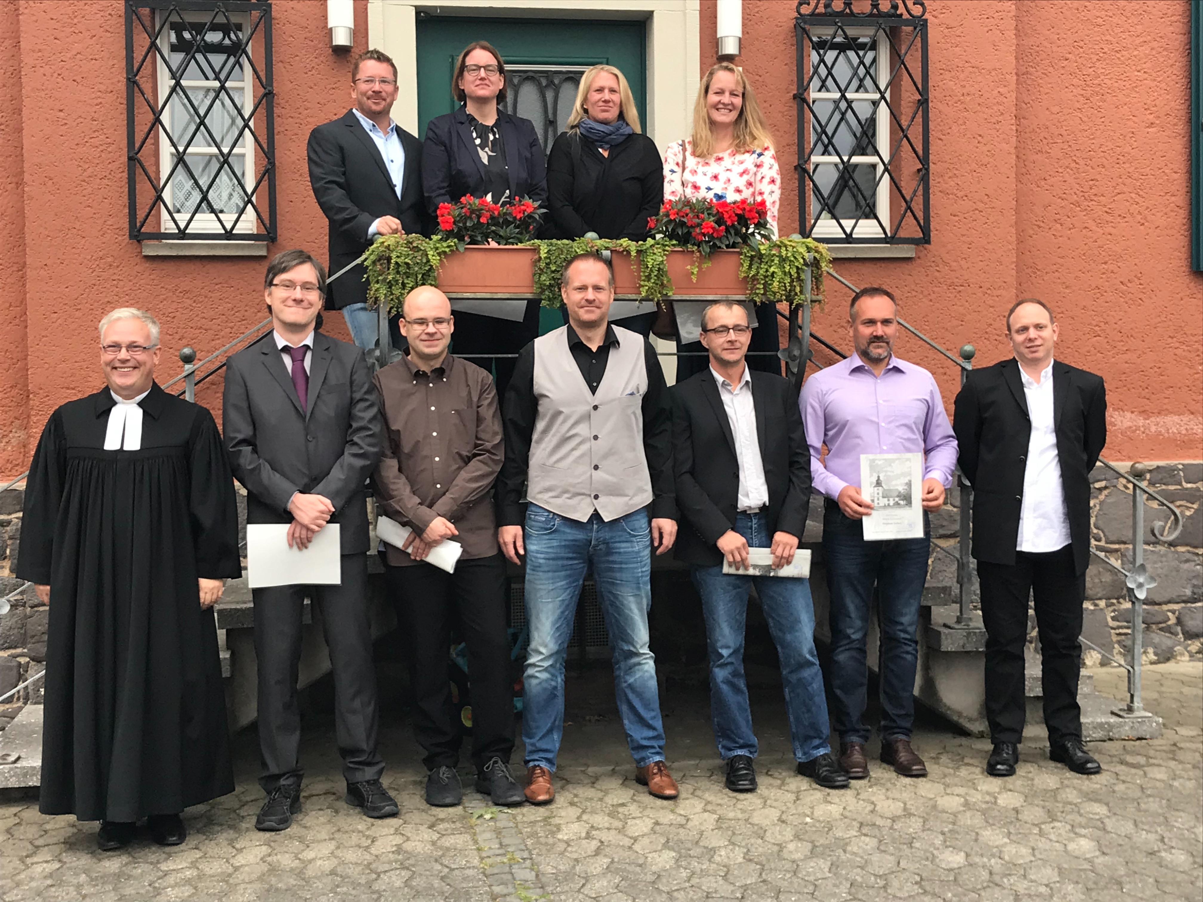 Silbernes Konfirmationsjubiläum in Trais-Horloff