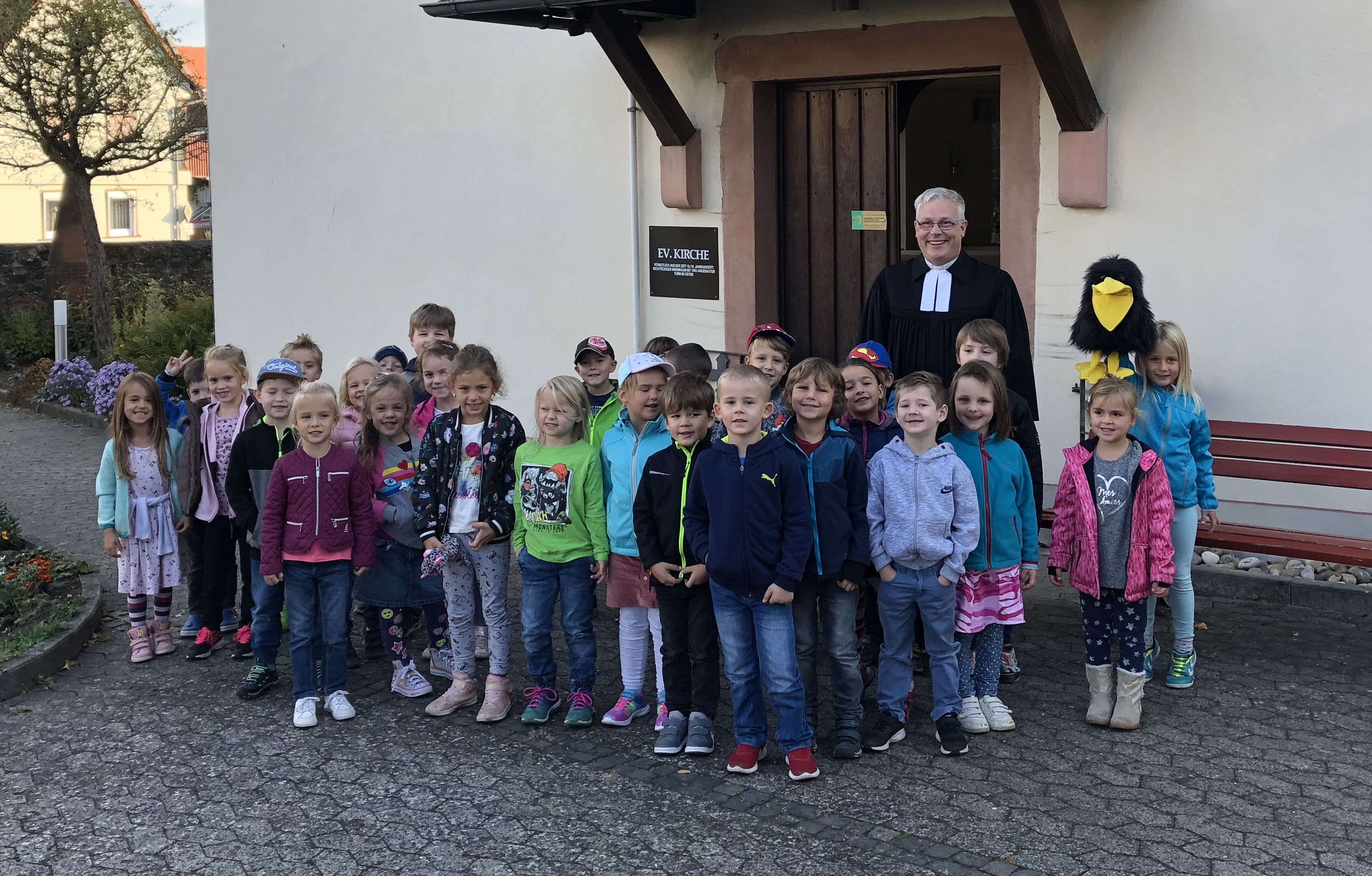 Die Kindergärten Inheiden und Trais-Horloff/Utphe feiern Erntedank