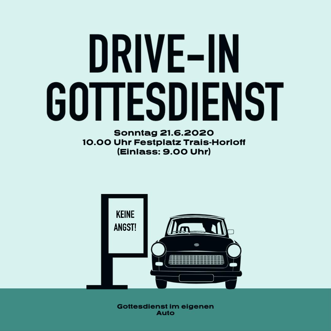 Drive-In-Gottesdienst